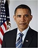 Wall Art Print ~ BARACK OBAMA Official Presidential Photo