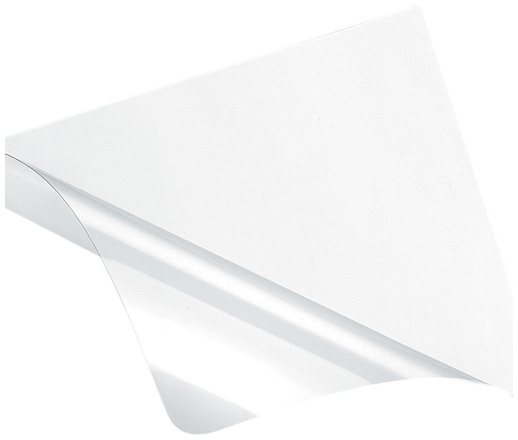 Fellowes Recyclable Binding Covers Ultra Clear, 5 Mil, Letter, 100 Pack (5242501) by Fellowes (Image #1)