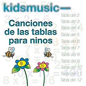 tablas del 5 kidzone from the album canciones de las tablas para ninos