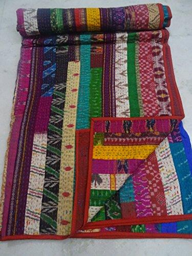 Patola Kantha Blanket Bedspread Rallies product image