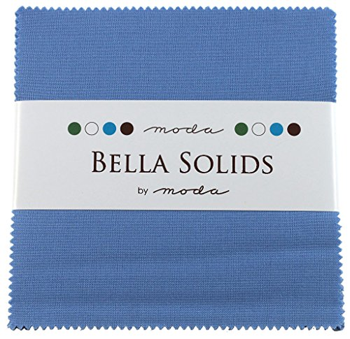 Moda Bella Solids Charm Pack Light Blue 9900PP-25