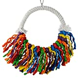 Animal Treasures LBW-0787 Birdie Jingle Circle Knot You Bird Toys