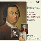Les fils de Bach III - J.C.F. Bach : Concertos. Goltz.
