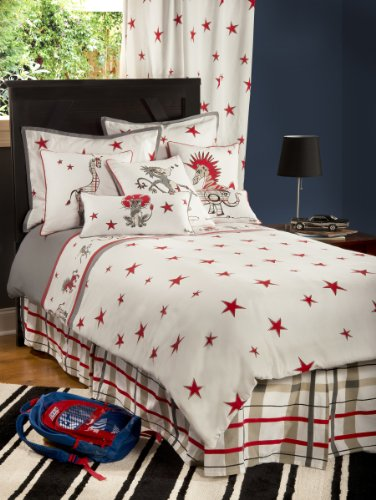 Rizzy Home Boys Punk Animal Stars 3-Piece Comforter Set, Full by Rizzy Home