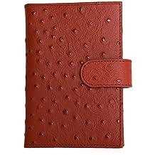 Women's Red Genuine Leather Passport Holder Kristy.X