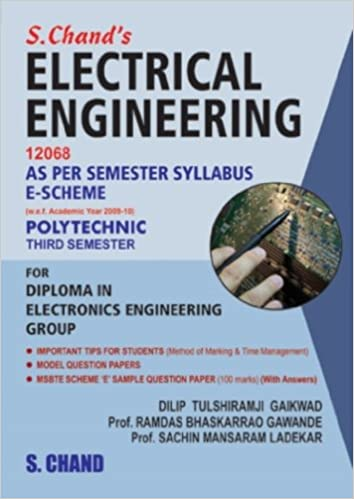 Buy Electrical Engineering 12068 for Third Semester Book Online at