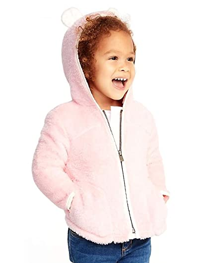 6fd1b43ae Amazon.com: Old Navy Spring Sale So Cute Micro Fleece Critter Zip Hoodie  Sale for Toddler Girls!: Clothing