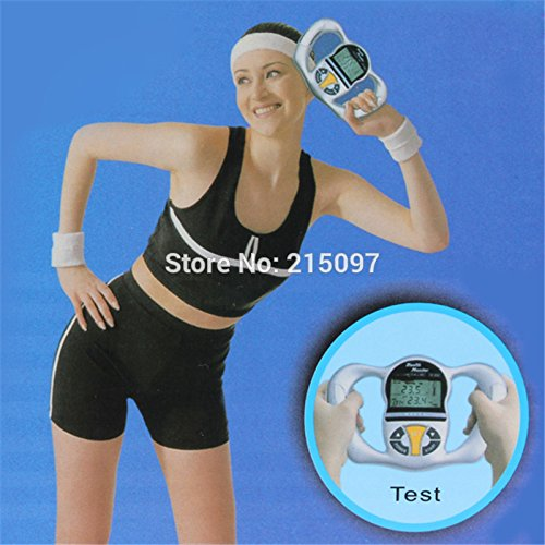 Amazon.com : Hubry (TM) Digital LCD Display Mini Handheld BMI Tester Body Fat Monitor Meter Health Minitors Analyzer With 5 Fat Levels For Reference ...