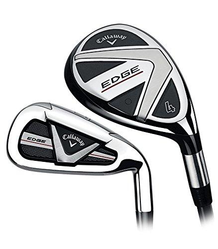 Callaway Golf Men'sEdge 8-Piece All Golf Hybrid Irons Set (Set of 8 Total Clubs: 4-6H, 7-PW, AW, Right Hand, Steel, Regular Flex)