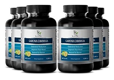 Garcinia slim - GARCINIA CAMBOGIA EXTRACT - Metabolism powder - 6 Bottle 360 Capsules