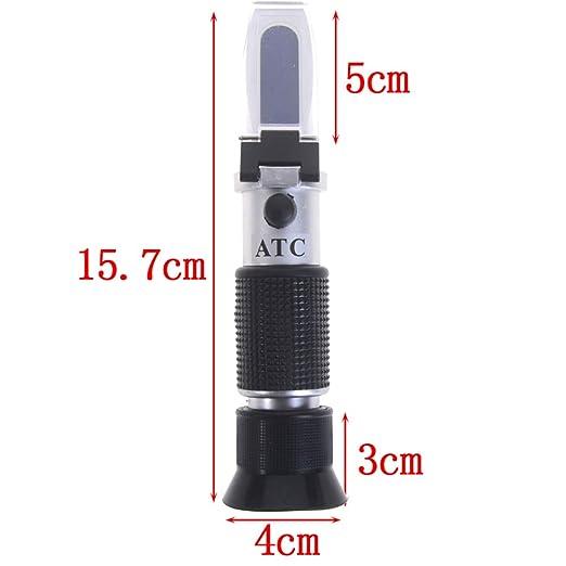 handheld antifreeze refractometer freezing point adblue ATC photorefractometer