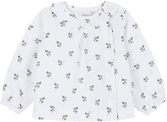 Gocco Camisa Estampada Flores Blusa para Bebés