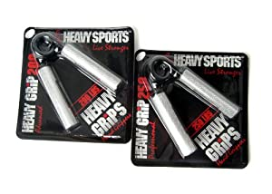 Heavy Grips Fingerhantel 2er-Set 200 + 250, HG200250
