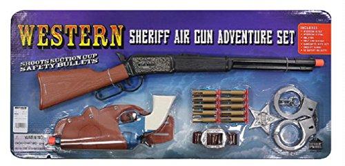 Western Sheriff Air Dart Gun Adventure Set
