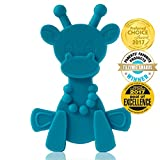 Baby Teething Toy Extraordinaire - Little bamBAM Giraffe Teether Toys by Bambeado. Our BPA Free Teethers help take the stress out of Teething - from Newborn Baby through to Infant.
