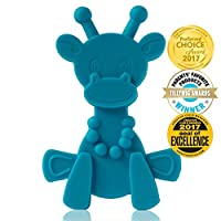 Baby Teething Toy Extraordinaire - Little bamBAM Giraffe Teether Toys by Bamb...