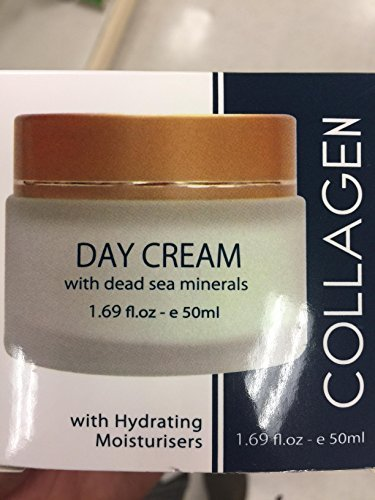 COLLAGEN DAY CREAM WITH DEAD SEA MINERALS / 50 ML 1.69 OZ