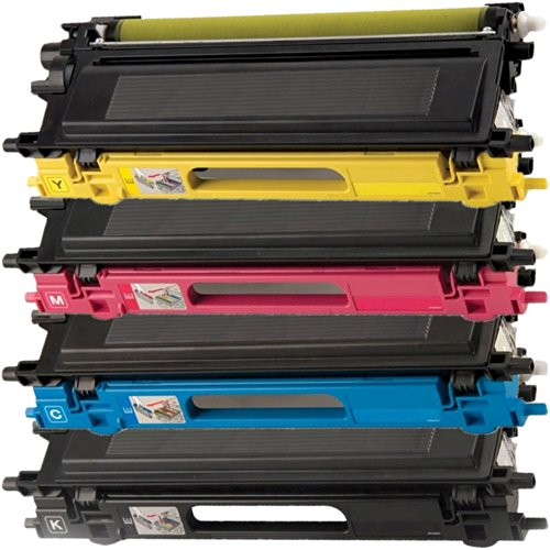4 Inktoneram Replacement Toner Cartridges for Brother TN110 TN115 TN110BK TN110C TN110M TN110Y DCP-9040CN DCP-9045CDN MFC-9440CN MFC-9450CDN MFC-9840CDW MFC-9870CDW HL-4040CDN HL-4040CN HL-4050CDN