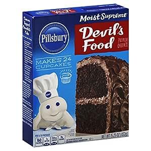 Pillsbury Chocolate Cherry Premium Cake Mix