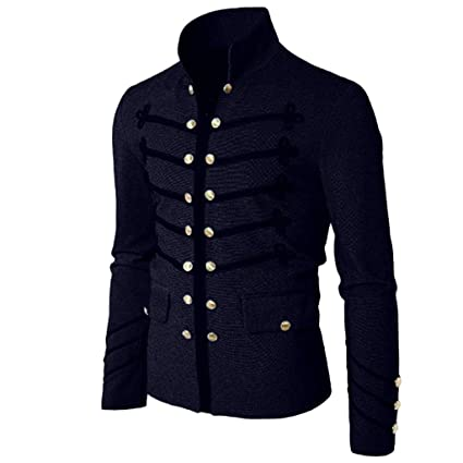Amazon.com: Mens Christmas Mens Coat Jacket Gothic ...