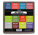 Olivelle Sea Salt Sampler: Artisan Sea Salts From Around The World