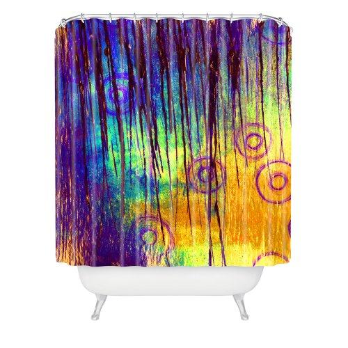 DENY Designs Sophia Buddenhagen Blue Crush Shower Curtain...