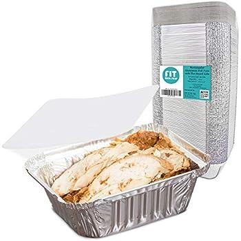Amazon Com 55 Pack 1lb Aluminum Foil Pan Containers