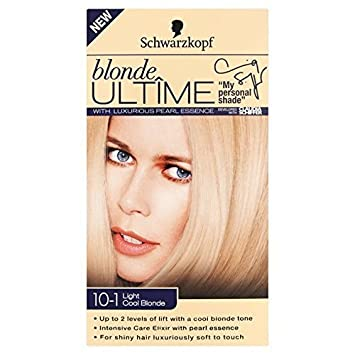 Schwarzkopf Blonde Ultime 10 1 Licht Kuhle Blonde 142ml Amazon De