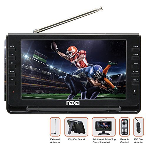 9 portable tv multimedia player