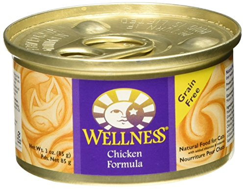 Wellness Chicken Formula Can Cat (Pack of 96) by Wellness