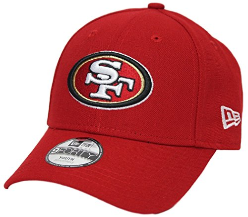 - New Era San Francisco 49ers Youth NFL 9Forty The League Adjustable Hat