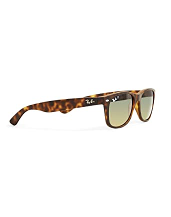 d58fedbcc3 Amazon.com  Ray-Ban New Wayfarer Matte Unisex Sunglasses RB2132-89476 Havana  E55B18T145 M US  Clothing