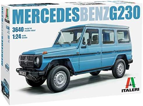 イタレリ 1/24 メルセデス・ベンツ G 230 ゲレンデヴァーゲン プラモデル IT3640