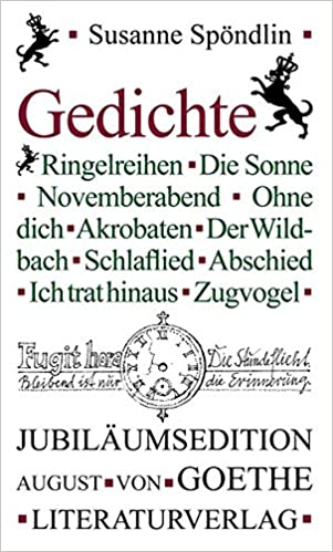 Gedichte German Edition Susanne Spöndlin Walfried Posse
