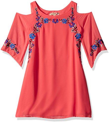 Speechless Girls Chiffon Shoulder Dress product image
