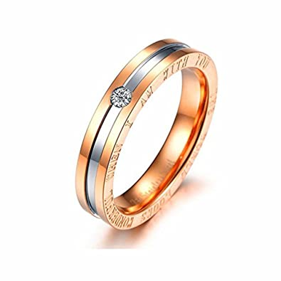 Amazon Com Dream Date Stainless Steel Wedding Ring Bridal Sets