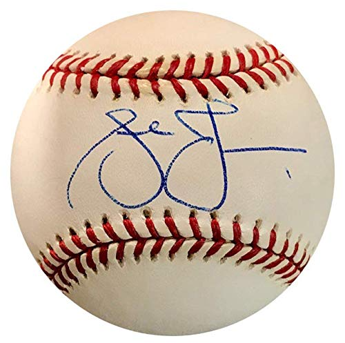 Andruw Jones Autographed Official National League Baseball Andruw Jones Autographed Baseball