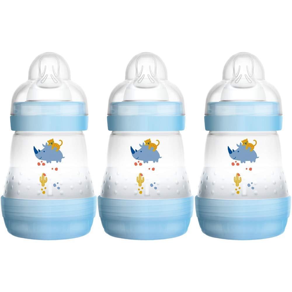 MAM Anti-Kolik selbststerilisierende Flasche Parent ASIN 160/ml 3er Pack