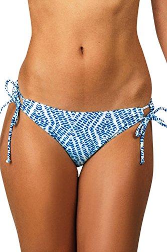 Raisins The Wave Side Tie Sweet Pea Bikini Bottom Size L