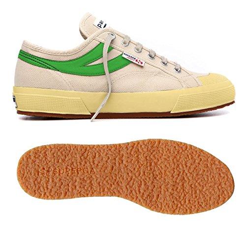 Superga - Zapatillas de gimnasia de Lona para hombre beige beige