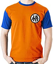 Camiseta Uniforme Goku Dragon Ball Camisa Blusa M2