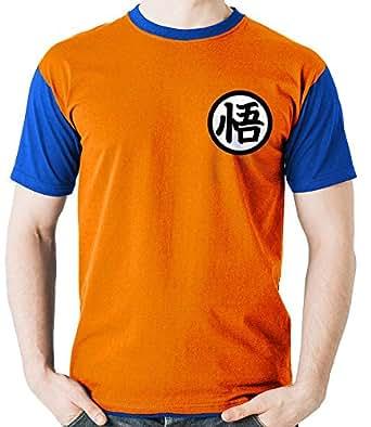 Camiseta Uniforme Goku Dragon Ball Camisa Blusa M2