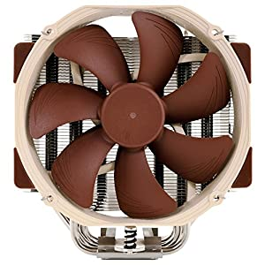 Noctua 14cm U-series Single Tower CPU Cooler, Brown (NH-U14S)