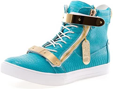 J75 by Jump Men's Zion High-Top Fashion Sneaker