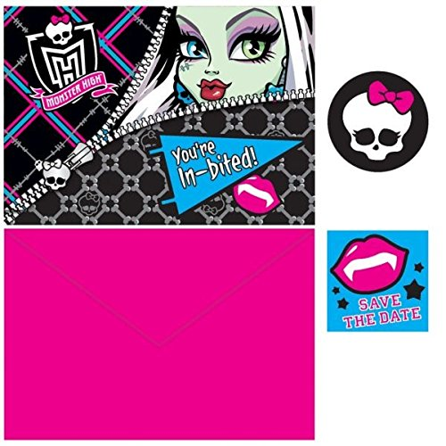 Invites | Monster High Collection | Party Accessory -