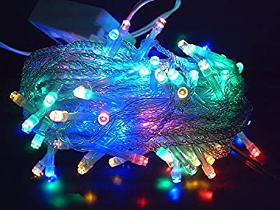 Outop® 10m 100LEDs Twinkle LED Party Decorative Fairy String Lights with 8 Modes Ideal for Wedding Xmas Halloween Diwali Christmas Outdoor Indoor Decorative lights