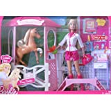Barbie I Can Be PONY DOCTOR Playset w Vet BARBIE Doll, HORSE & More! TARGET Exclusive (2010)