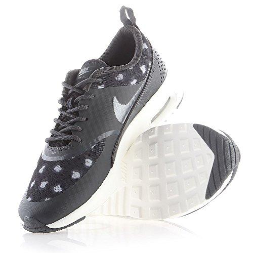 Nike Damen Air Max Thea Laufschuhe Grau-schwarz-weiß