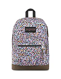 JanSport Right Pack Expressions - Mochila ligera para portátil de 15 pulgadas, Colorful Concrete Print, One_Size
