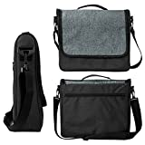 Cheap AMAGLE Travel Carrying Bag for Nintendo Switch, Portable Protective Messenger Bag Case Shoulder Bag for Nintendo Switch, Joy-Con Grip, Nintendo Accessories, Cellphone, Tablet and other Devices